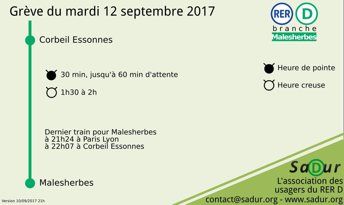 Comment les manifestations vont perturber les transports mardi 12 septembre