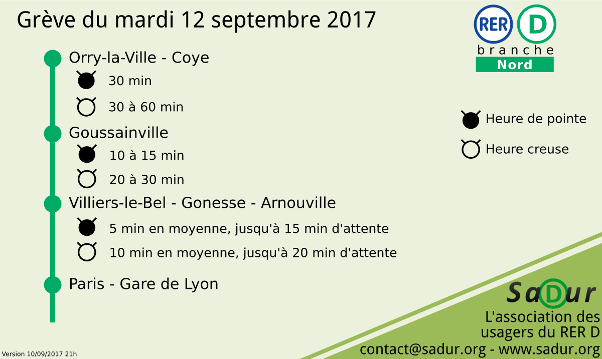 Grève nationale en France le 12 septembre 2017 — Social