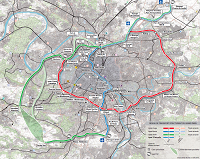 Tracé du Réseau de TRansport du Grand Paris