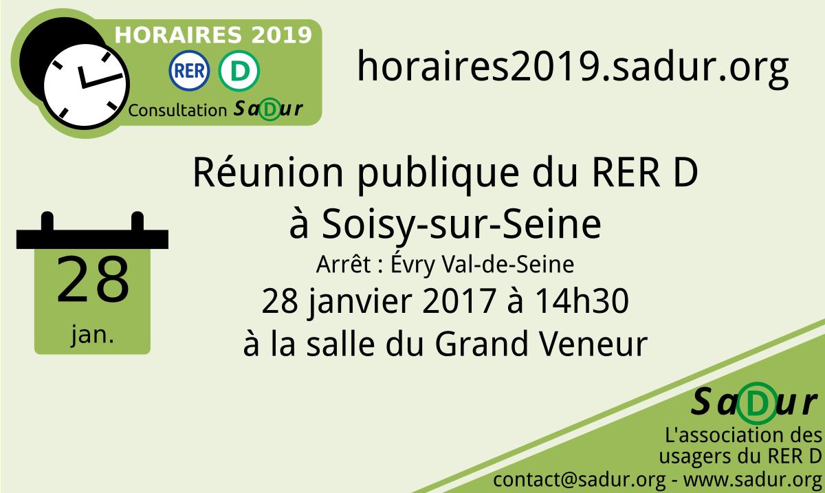 Réunion de Soisy-sur-Seine
